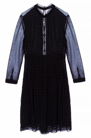 'lilith' perforated dress od AllSaints