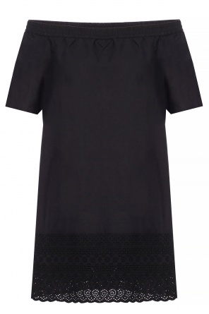 'livia' off-the-shoulder dress od AllSaints