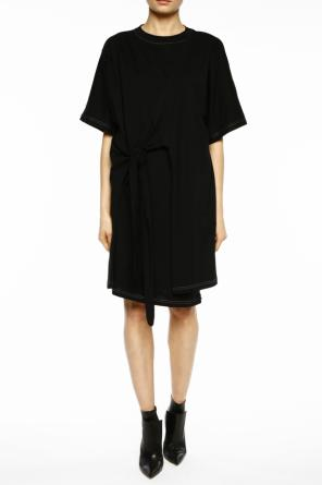 Lacing detail sweatshirt dress od Acne