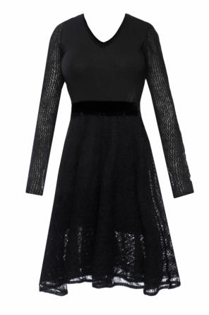 Dress with openwork inserts od Diesel