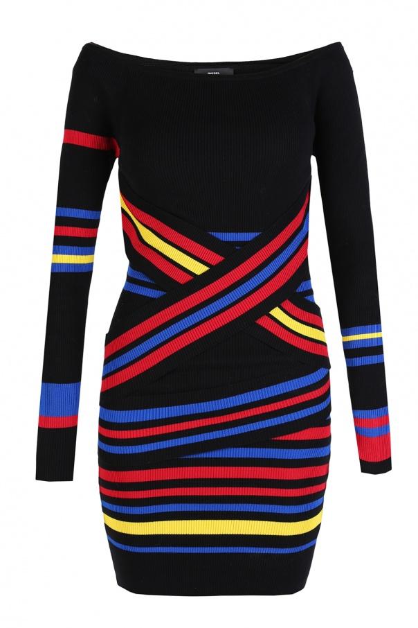 141ce52574 Sukienka w paski Diesel - sklep internetowy Vitkac