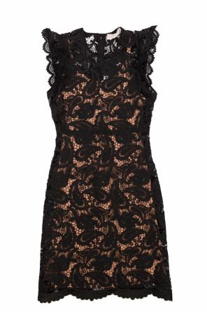 Embroidered lace dress od Michael Kors