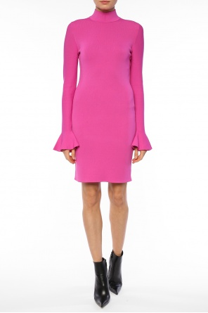Band collar dress od Michael Kors
