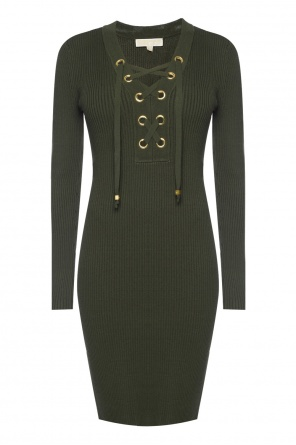 Lace-up dress od Michael Kors
