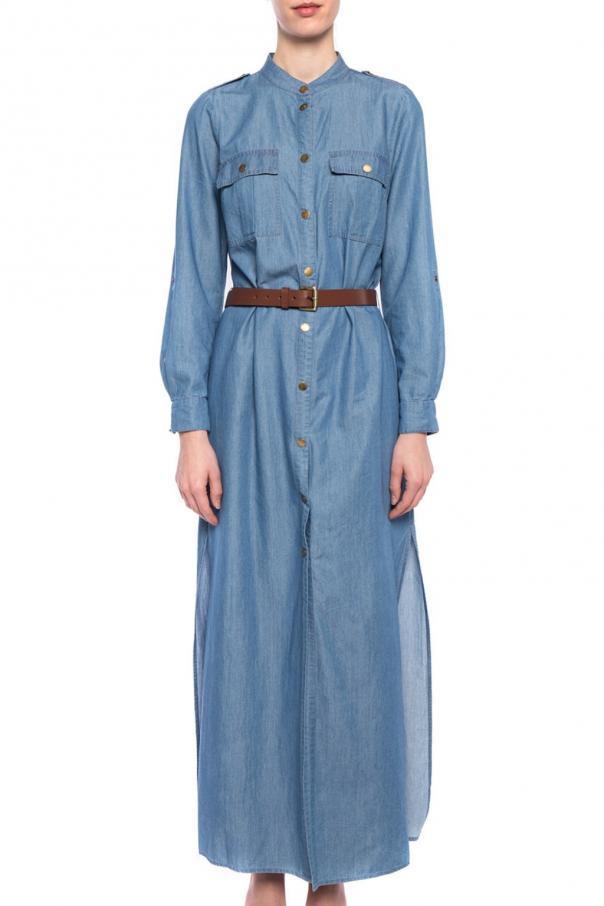 0b3781a388 Jeansowa sukienka z paskiem Michael Kors - sklep internetowy Vitkac