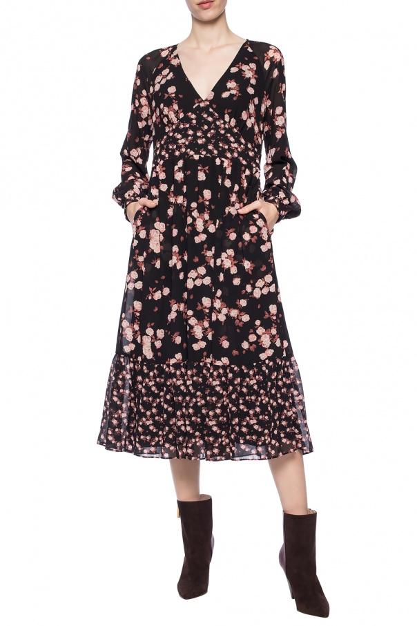 Sukienka z motywem kwiatowym od Michael Kors