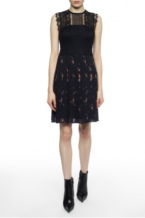 Pleated lace dress od AllSaints