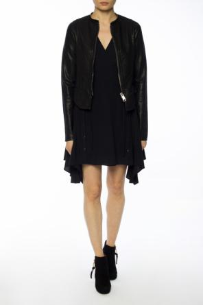 'miller' asymmetrical dress od AllSaints