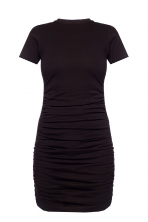 Fitted dress with logo od Michael Kors