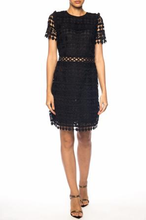 Short sleeve openwork dress od Michael Kors