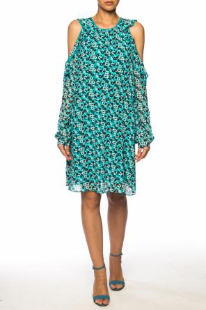 Floral motif dress od Michael Kors