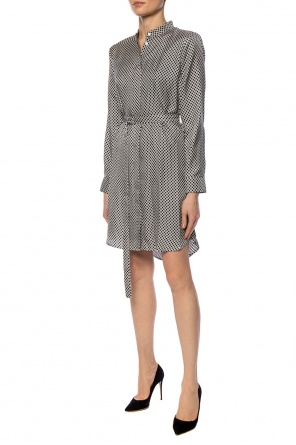 Patterned dress with long sleeves od Michael Kors
