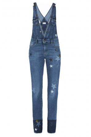 Denim dungarees