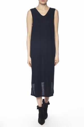 Asymmetrical dress od Acne