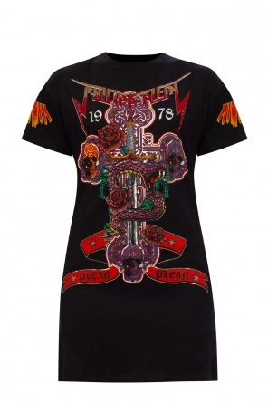Dress with logo od Philipp Plein