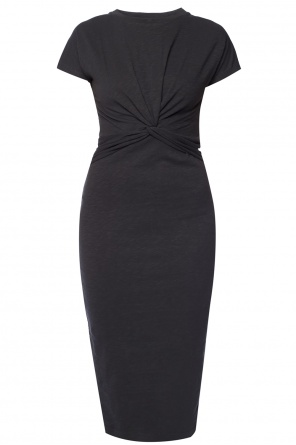 'paloma' knot detail dress od AllSaints