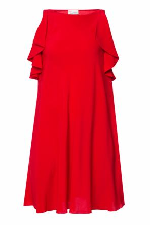 Ruffle dress od Valentino Red