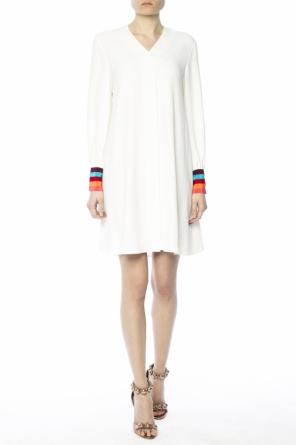 Dress with colourful cuffs od Paul Smith