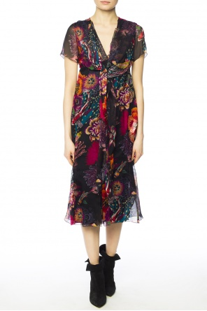 Floral motif dress od Paul Smith