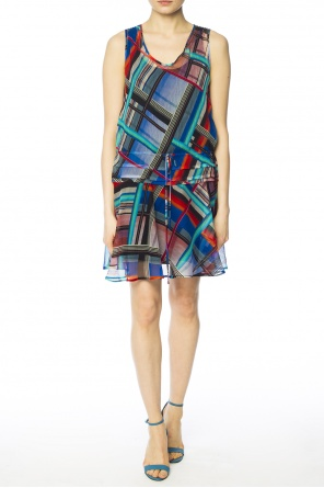 Sleeveless patterned dress od Paul Smith