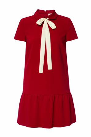 Dress with bow od Valentino Red