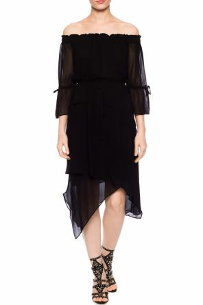 'rina' ruffled dress od AllSaints