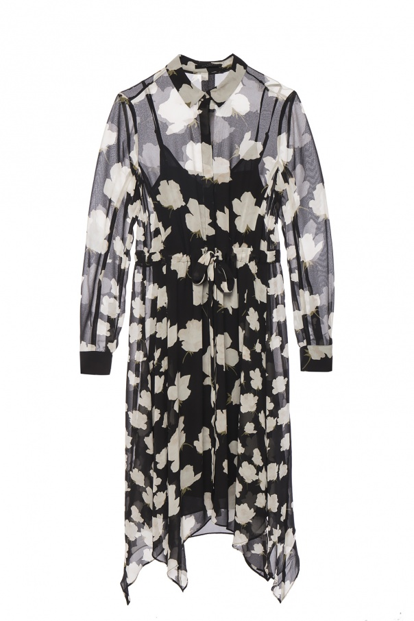'Riva' Floral Printed Dress by All Saints