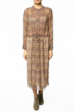 Patterned silk dress od Isabel Marant Etoile