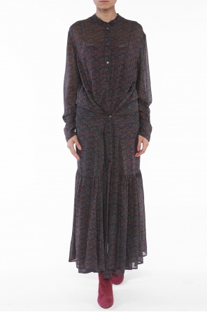 Long patterned dress od Isabel Marant Etoile
