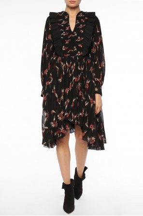 Lace-up waist dress od Isabel Marant