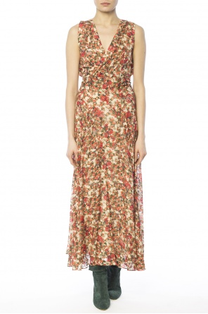 Long patterned dress od Isabel Marant