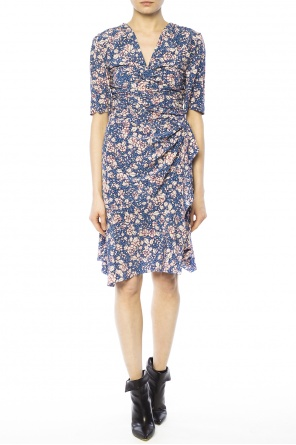 Patterned v-neck dress od Isabel Marant