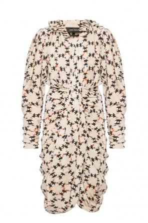 Patterned silk dress od Isabel Marant