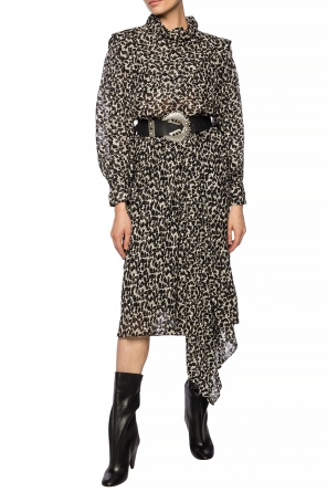 Patterned dress with long sleeves od Isabel Marant