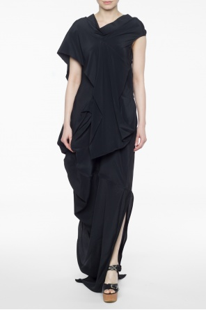 Long asymmetric dress od Rick Owens