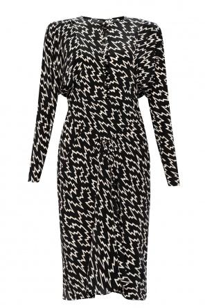 Sukienka z długimi rękawami od Isabel Marant