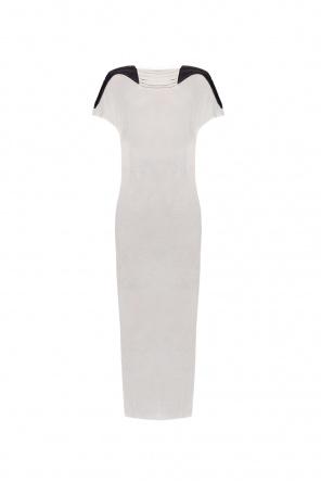 Dress with down inserts od Rick Owens
