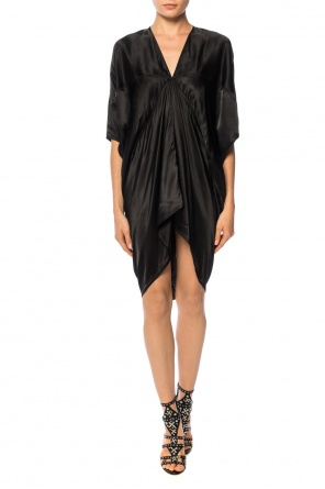 V-neck dress od Rick Owens