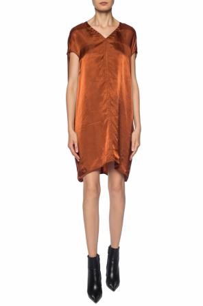 Dress with a v-neckline od Rick Owens