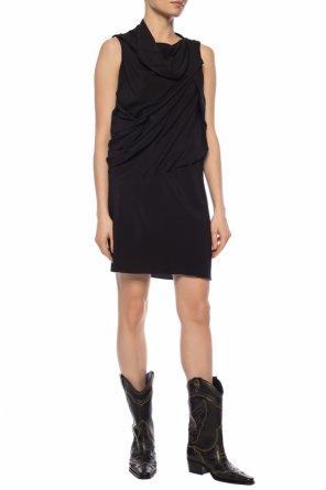 9eab99957b Marszczona sukienka bez rękawów od Rick Owens ...