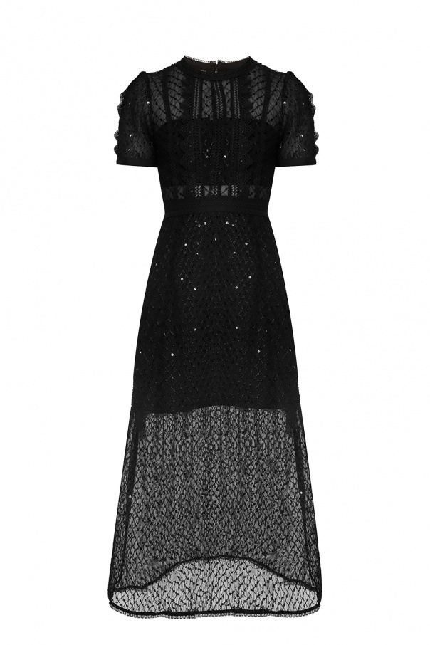 Short-sleeved dress od Self Portrait