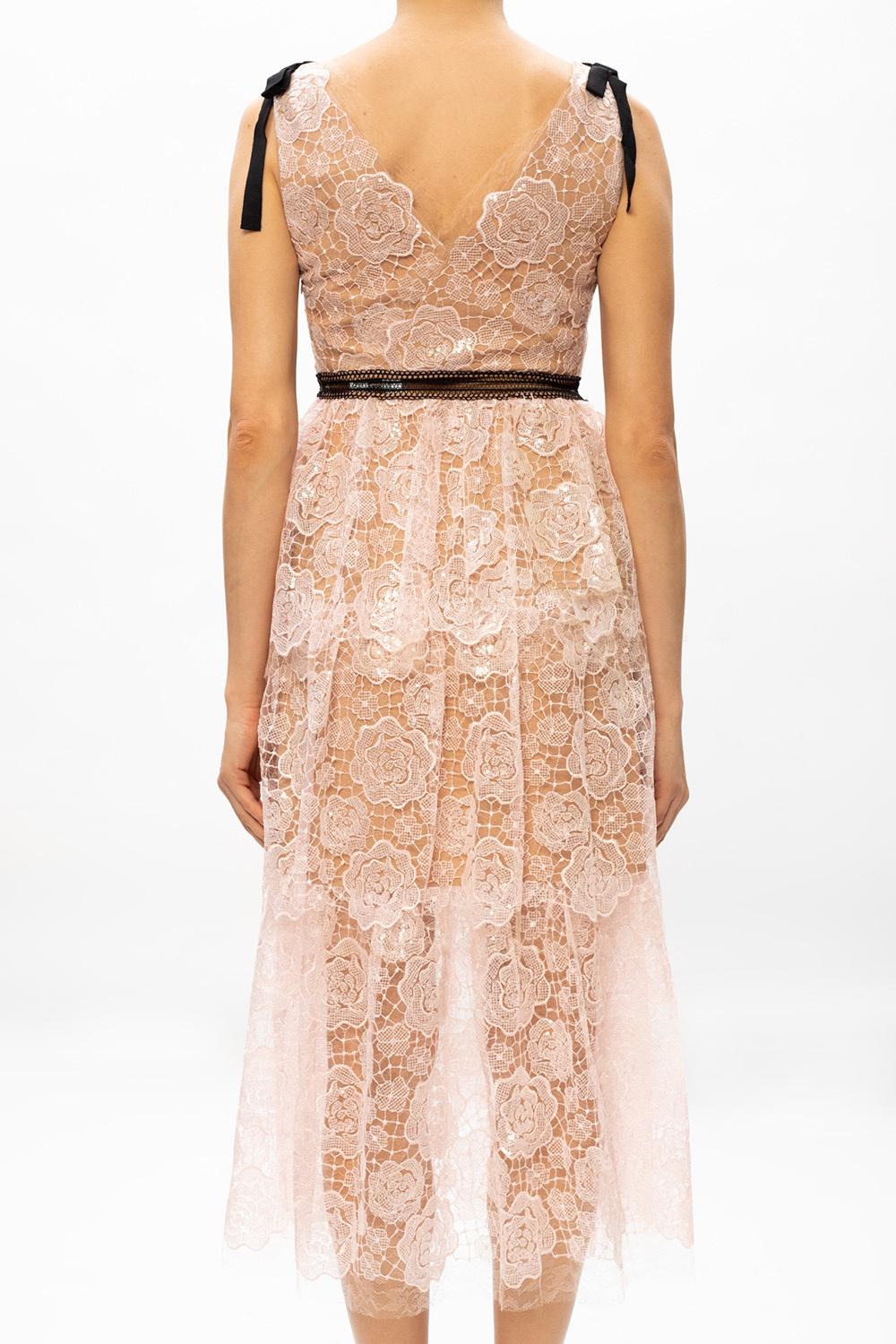Self Portrait Openwork dress