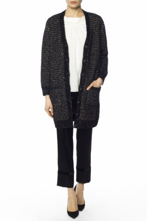 Long patterned cardigan od Lanvin