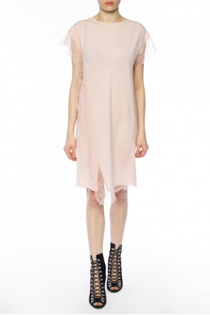 Lace-trimmed dress od Lanvin