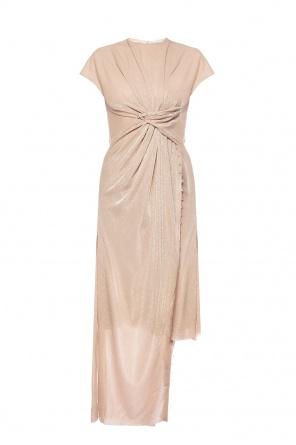Asymmetrical dress od Lanvin