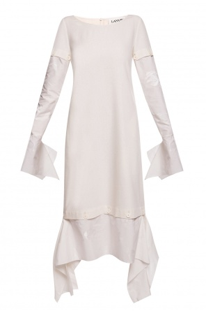 Dress with detachable sleeves od Lanvin