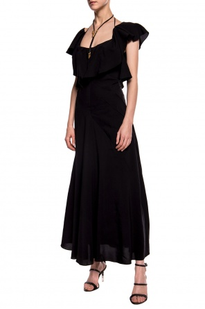 Bare back dress od Lanvin