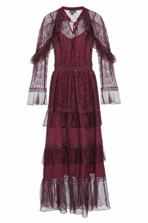 Long lace dress od Just Cavalli