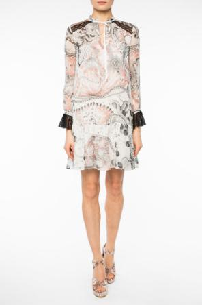 Patterned lace dress od Just Cavalli