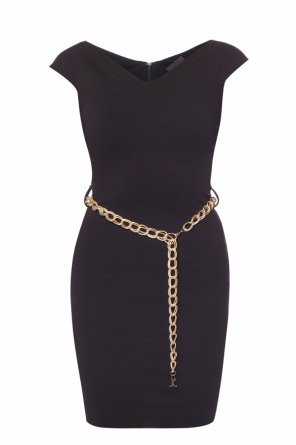 Dress with a decorative chain od Just Cavalli